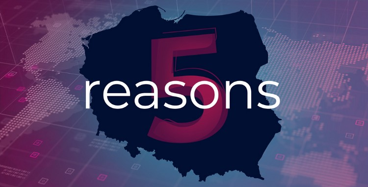 5 reasons to outsource software development to Poland
