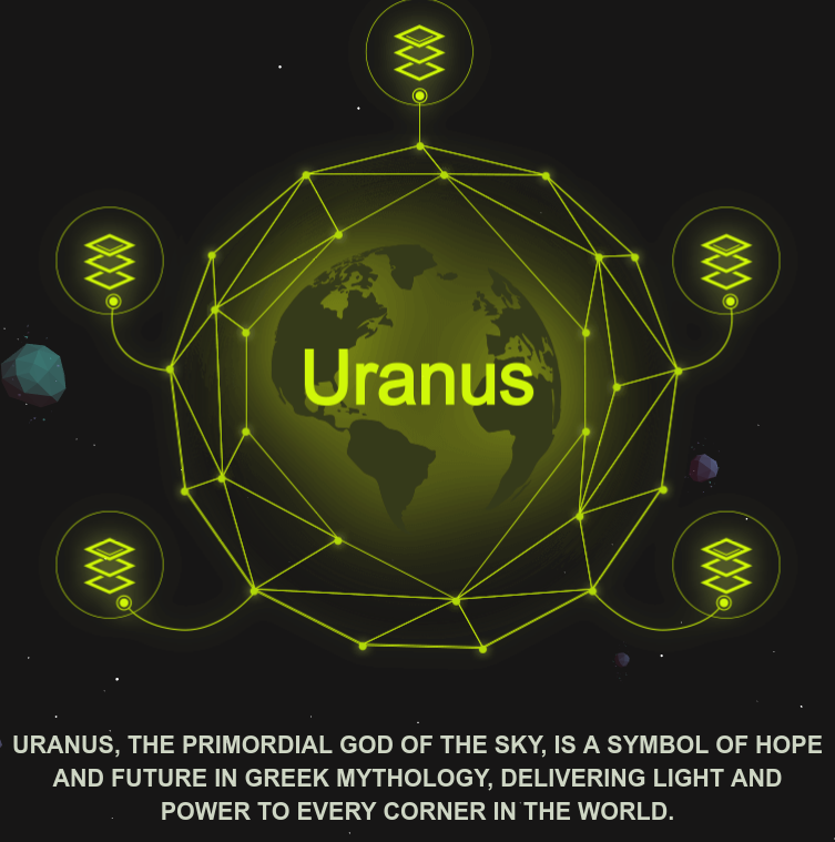Uranus Urac Ama With Wolf Crypto Wolf Crypto Medium