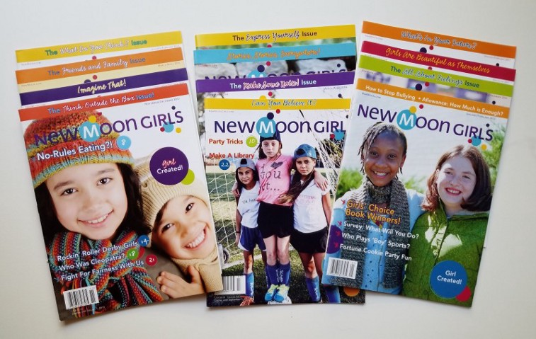 New Moon Girls 12 issues