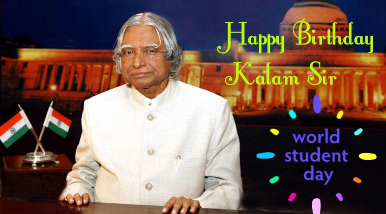 Apj Abdul Kalams Birthday Observed As World Student Day