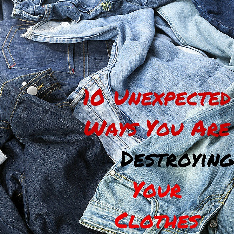 10 Unexpected Ways You Are Destroying Your Clothes – THREAD by ...