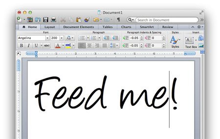 the worst thing you can do as a human is use microsoft word to take
