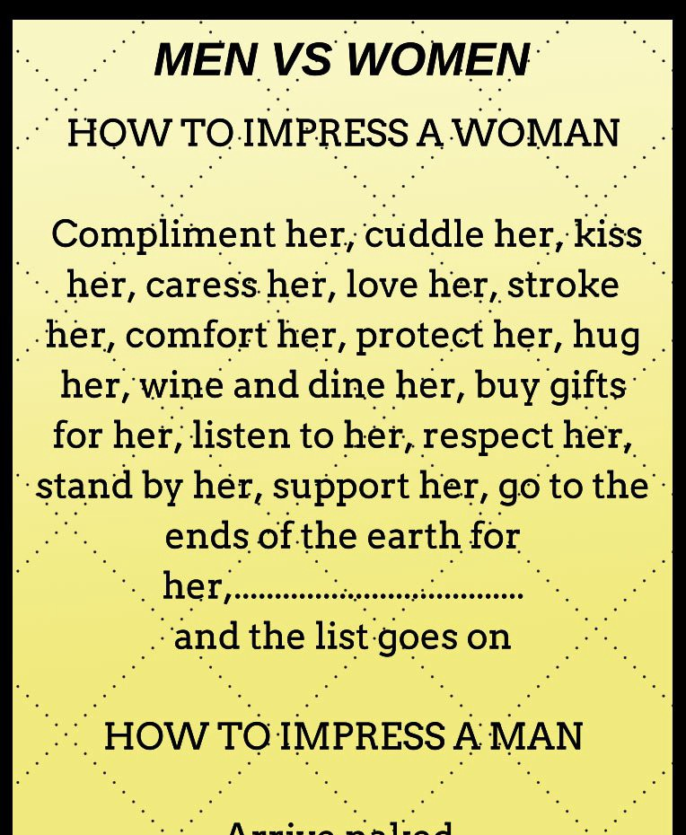 How To Make A Women Happy