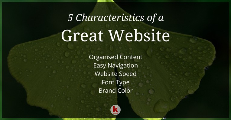 5 key characteristics of a great website redalkemi medium