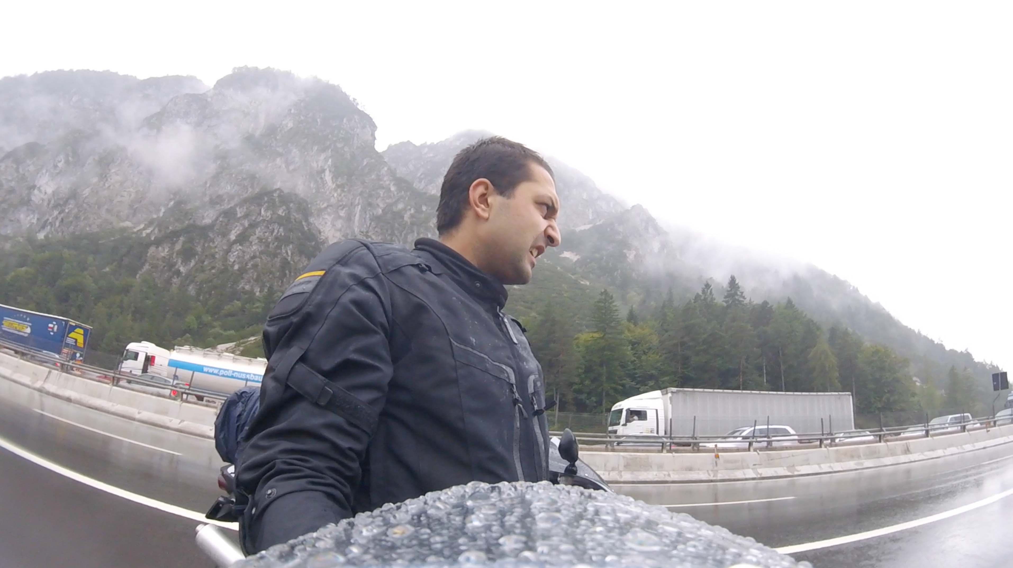 Somewhere in Italy from Vienna to Venice — RAIN!!
