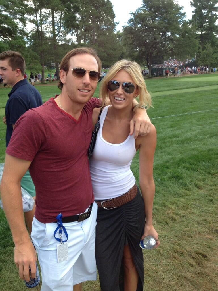 Paulina Gretzky Crushing The Wife-Beater Look At The PGA Championship