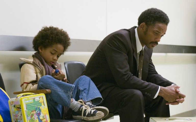 strength of chris gardner in movies pursuit of happiness