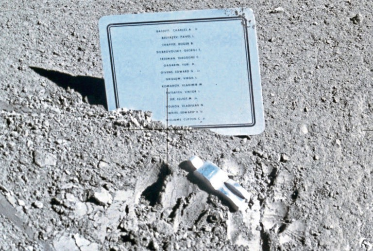 Seven Things Left on the Moon by Humans