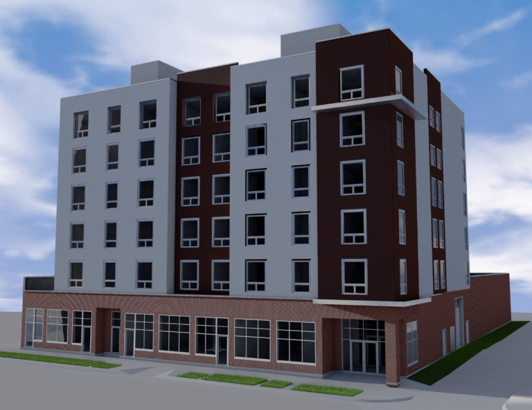 Attractive ... And Eric Theisen And Freddy Ellis Of Watermark Equity, Have Proposed  U201cHoward Rogers Loftsu201d, A 38 Unit Apartment Building Less Than Two Blocks  From The ...