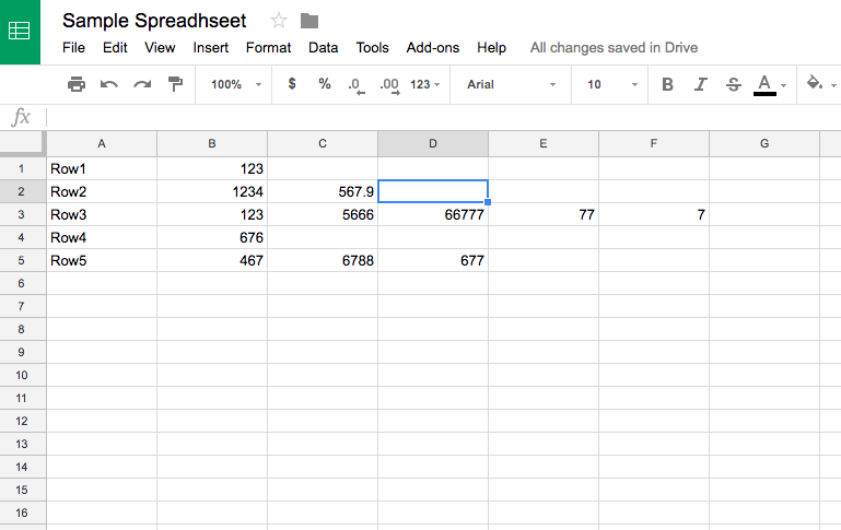 How To Find The Last Column In A Particular Row In Google
