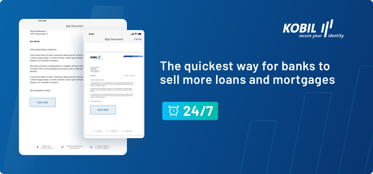 Chat2Sign: the quickest way for banks to sell more loans and mortgages, 24/7