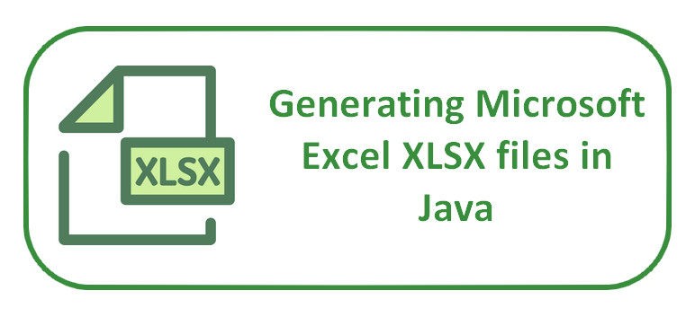 in that tutorial you are going to learn how to generate microsoft excel files in a java application