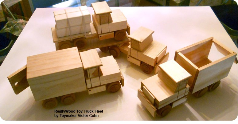 Wooden Toy Truck Plans : 7 toy making plans to engage your kid in leisure times
