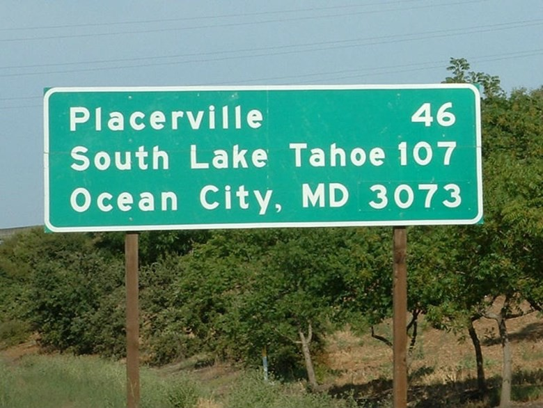 Two Coasts Two Cities Two Signs The Story Behind The Ocean City