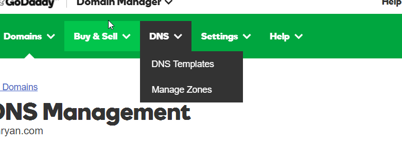 Github Pages Templates | How To Set Up Godaddy With Github Pages William Ryan Medium