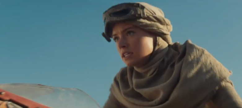 Star Wars trailer shot