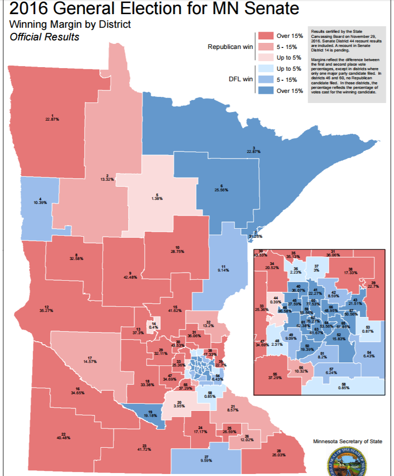 Getting Specific About Downballot Elections The Minnesota State
