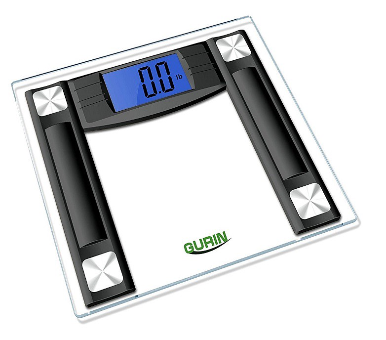 gurin digital bathroom scale is the best bathroom scales of 2017 is easy to use looks amazing high on accuracy nice lcd display and is topped with - Best Bathroom Scale