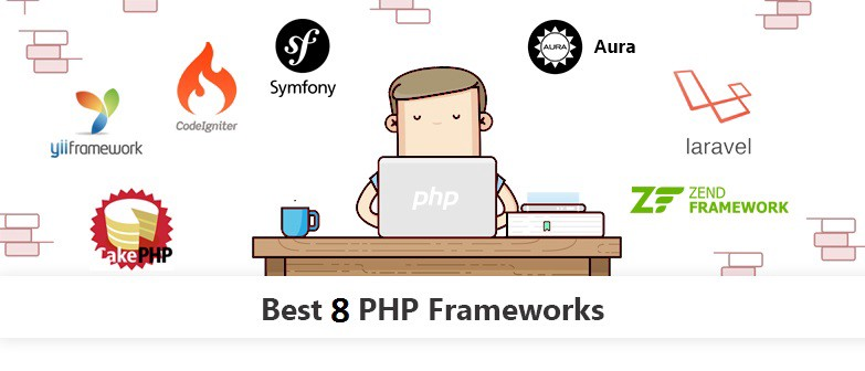 Top 8 PHP Frameworks in 2019 - By Jasmine Ronald