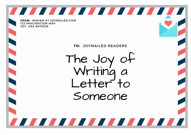 writing a letter to my husband