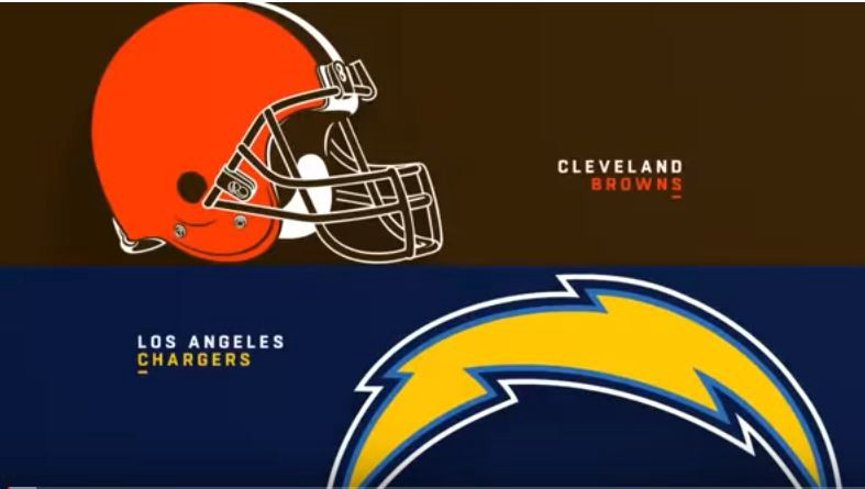 Los Angeles Chargers vs Cleveland Browns live এর ছবির ফলাফল