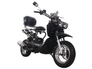 Popular and Fashionable 49cc Gas Scooter and 50cc Gas Moped