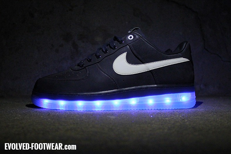 light up nike air force ones shoes