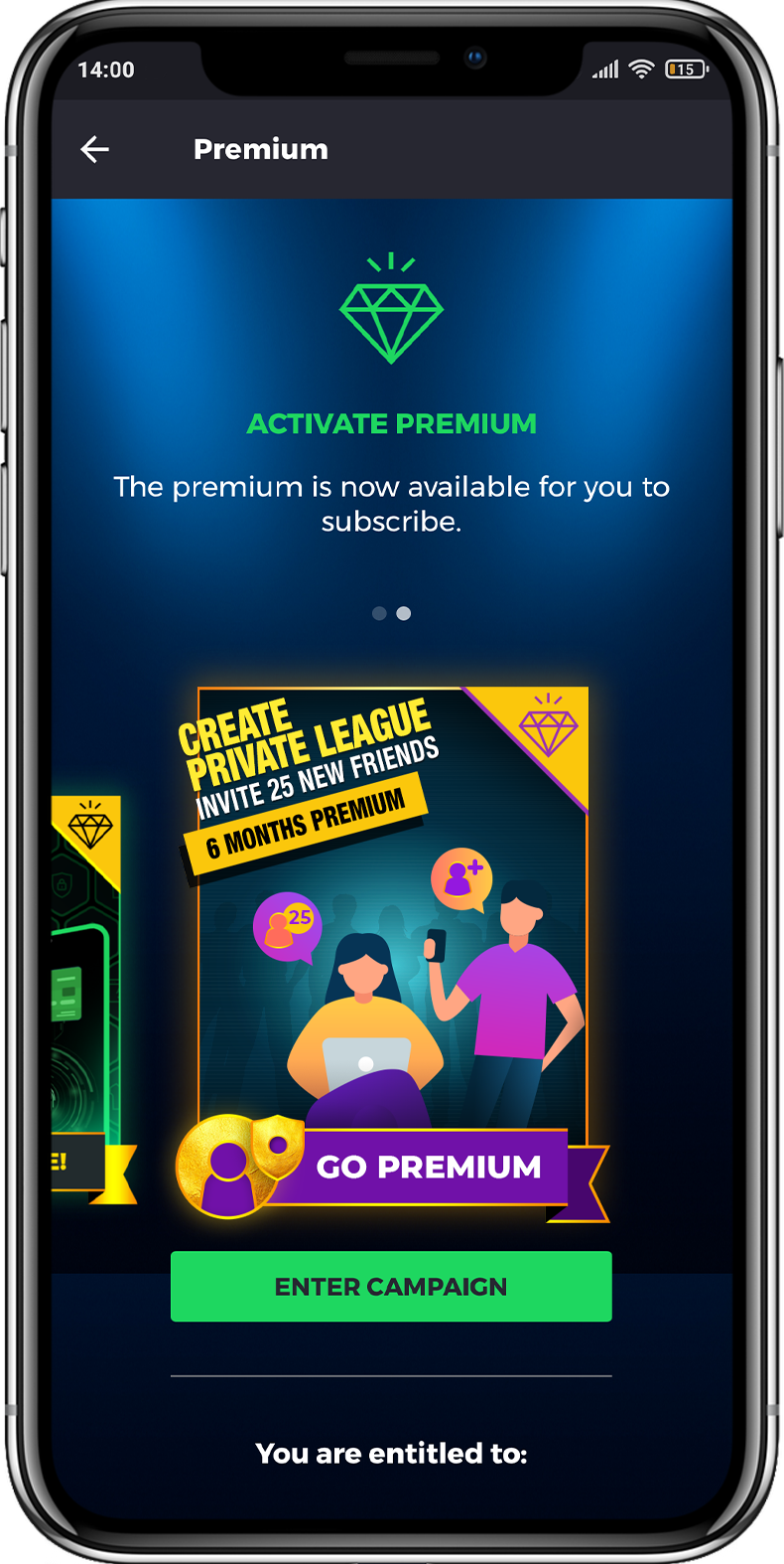 The RealFevr Premium Influencer campaign is now available.