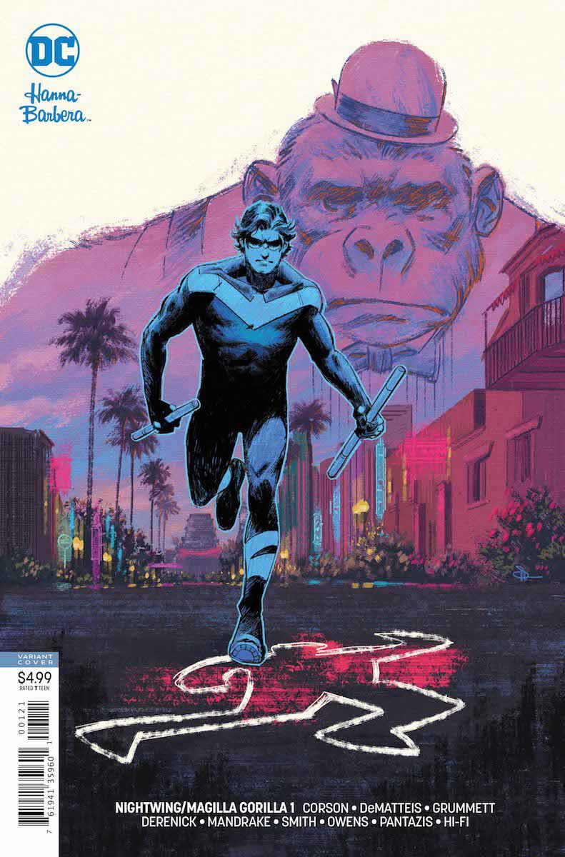 Review Nightwing Magilla Gorilla Special 1 Hollywood Goes Ape