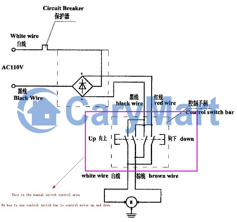 How To Remote Control Winch Motor Up And Down Mandydong Medium Superwinch Lt2500 Wiring Diagram Champion Winch Wiring Diagram ATV Warn Winch Diagram At IT-Energia.com