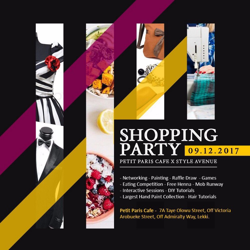 Style Avenue Shopping party