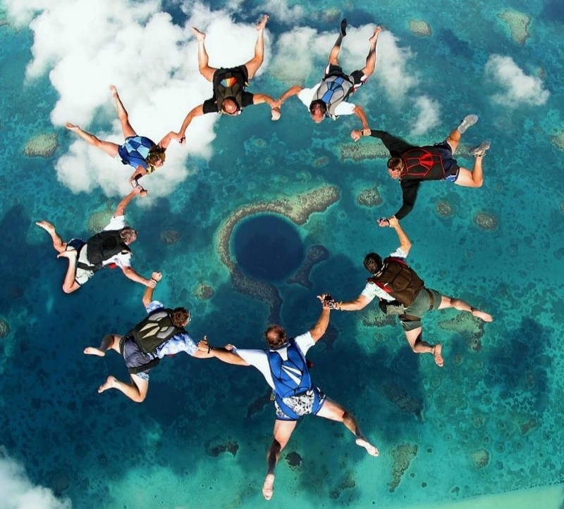 Skydive Blue Hole
