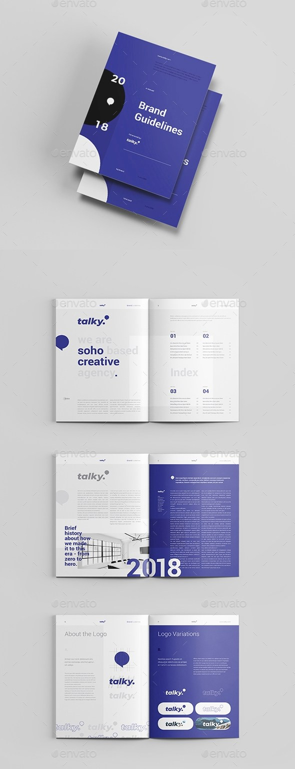 25+ Best Brand Guidelines Templates for InDesign – Creative