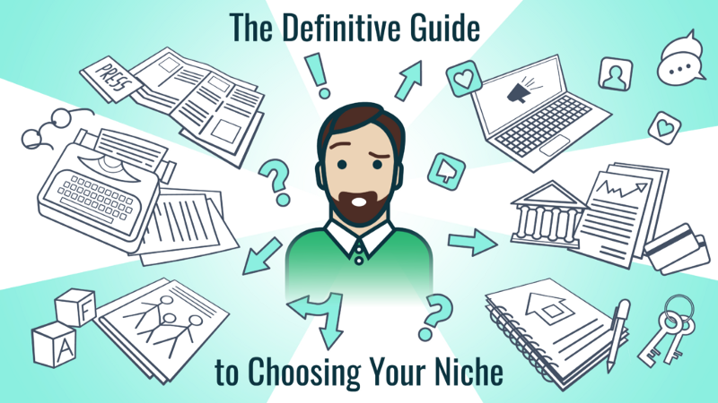 Freelance writing, choose a niche, niche selection
