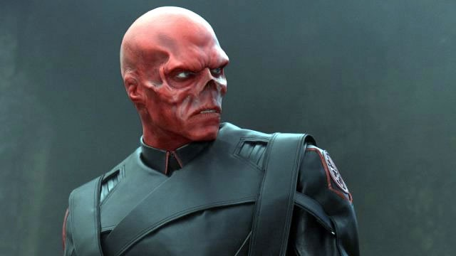 Official Look at The Red Skull in Captain America Movie