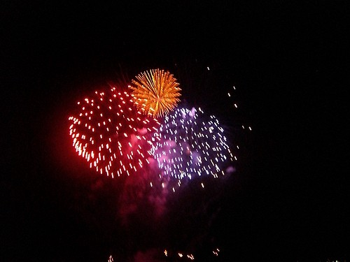 Fireworks by you.