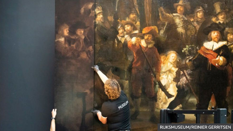 Friday Five: AI restores centuries-old masterpiece image