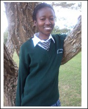 Margaret is one of 16 million children orphaned by HIV/AIDS