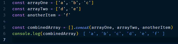 Array.concat Method