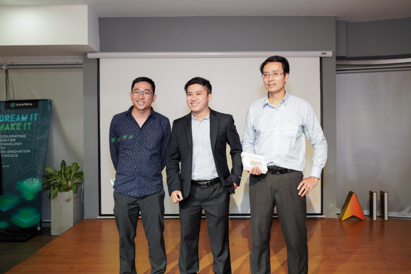 Kambria Startup Pitch Winners and Judges