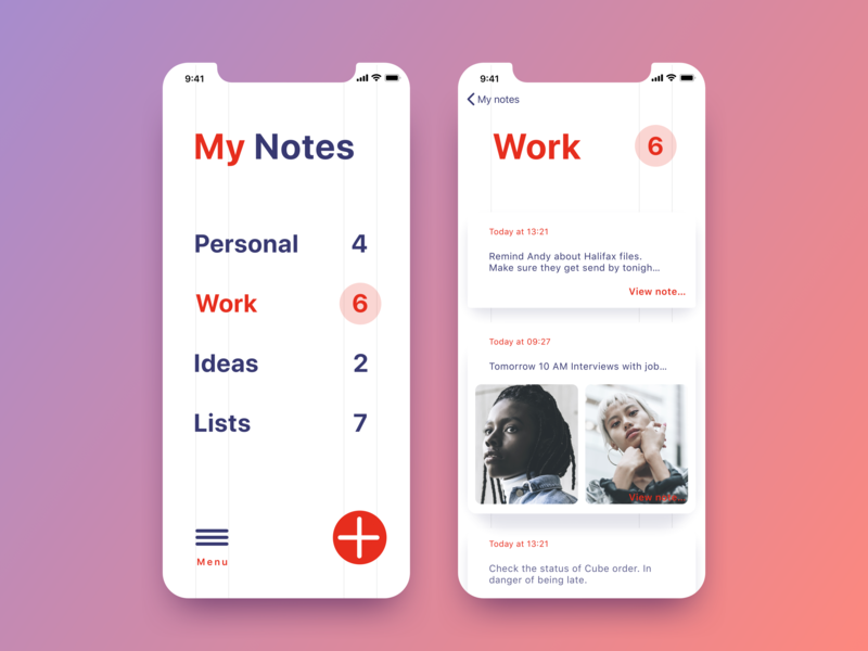 note taking app react native
