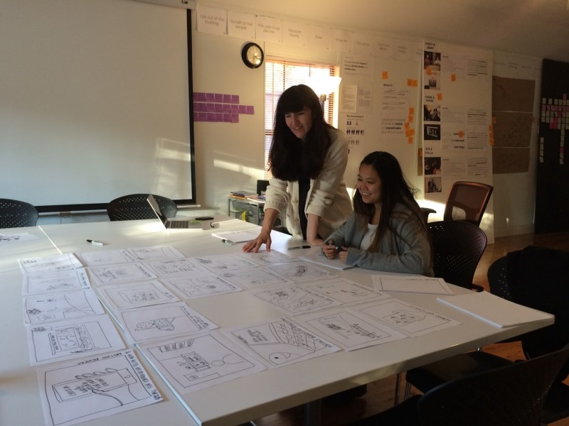Celine Evaluating Concepts With Designer Sophie Kwok