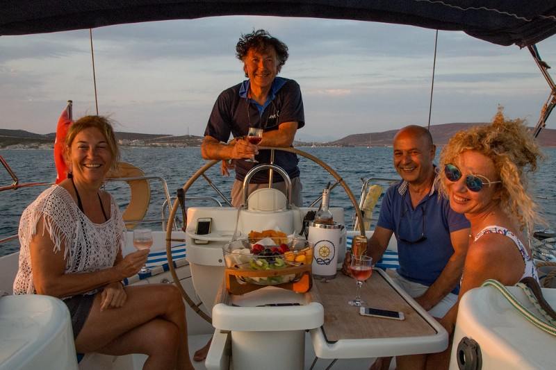 Sailing the Aegean Sea with New Friends from the Alaçati Luce Design Hotel