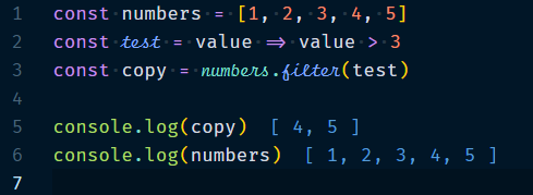 Array.filter Method