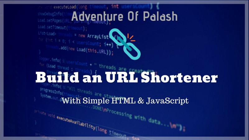 How to build a simple URL shortener with just HTML and