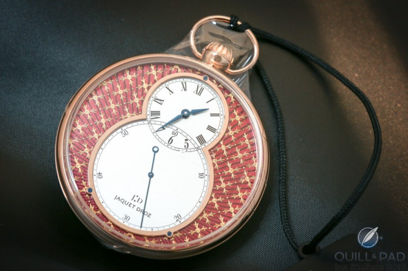 Jaquet Droz Pocket Watch Paillonnée