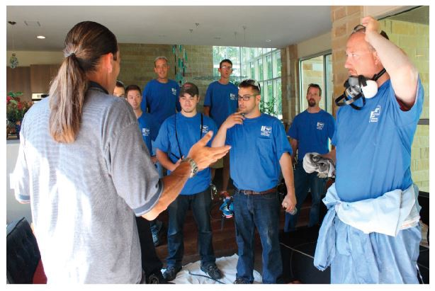 Extensive Chimney Sweeps Training Programme