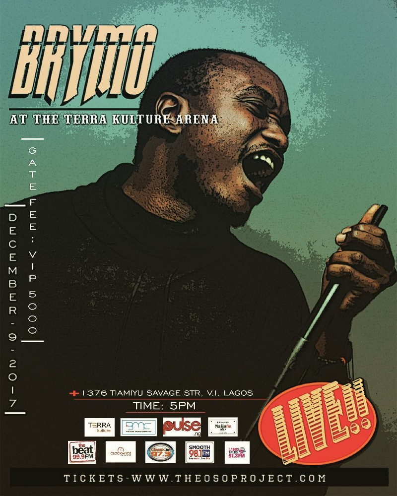 EVENT IN LAGOS: Brymo Live At Terra Kulture Arena