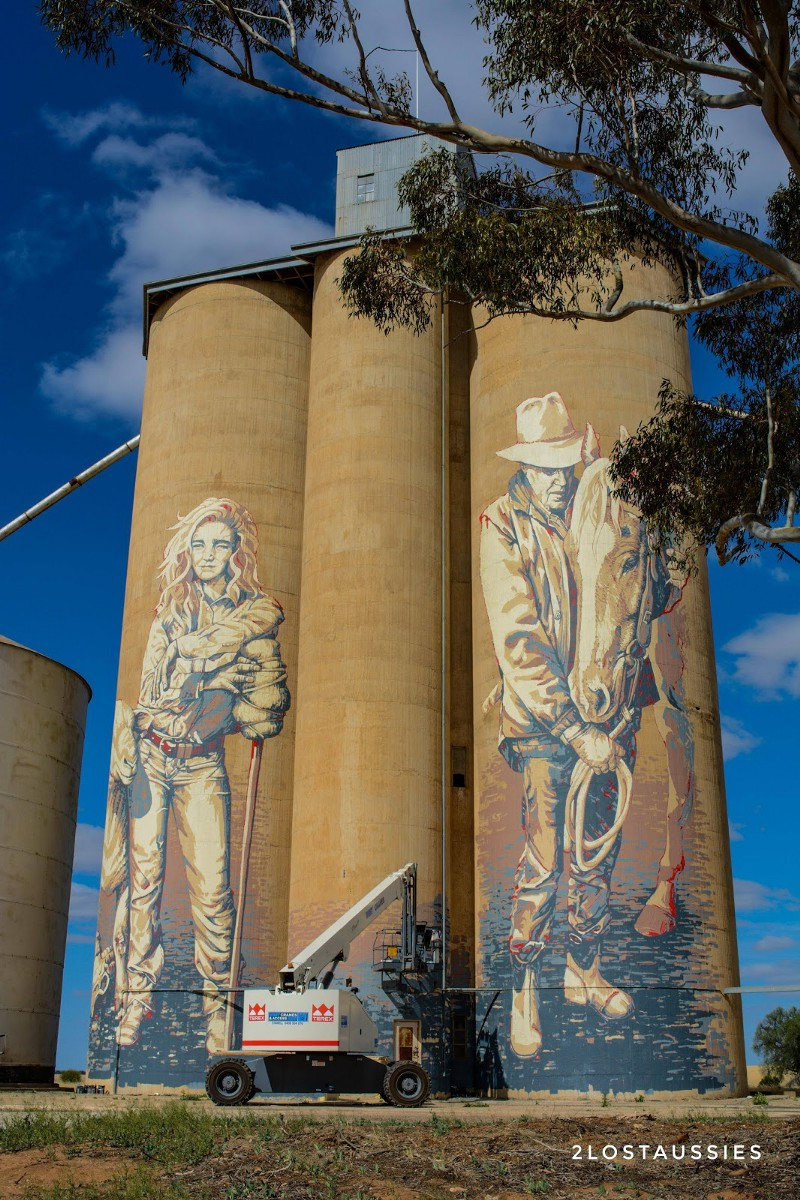 rosebury silo art trail