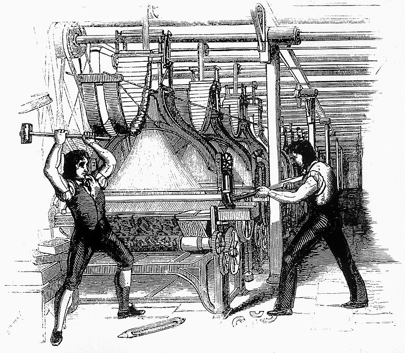 My First Acquaintance with a Luddite